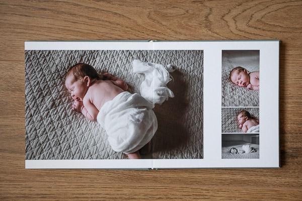 Valokuva-albumi vastasyntyneen kuvaus - Helsinki, Siru Danielsson Photography