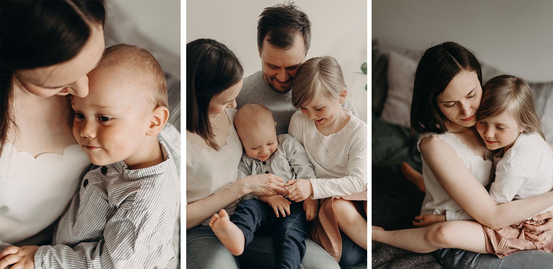 Perhekuvia omasta perheestäni, valokuvaaja Minna Sipinen