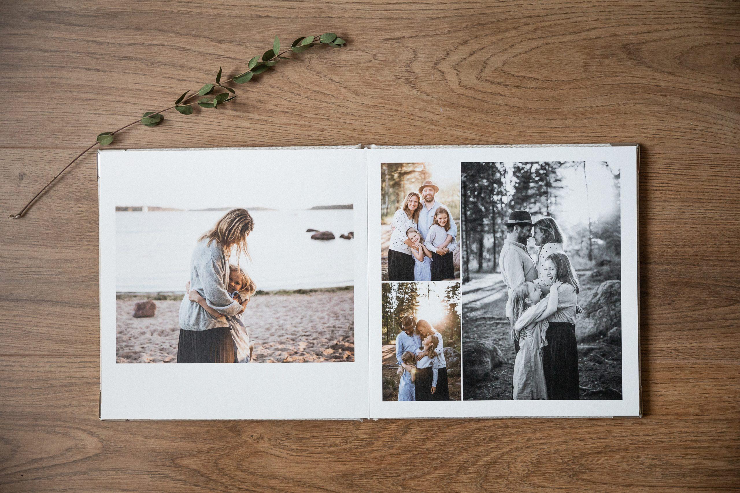 Valokuva-albumi, Siru Danielsson Phtography, Helsinki