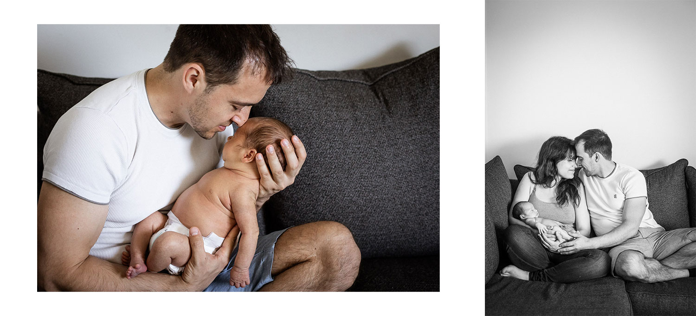 Isä ja vauva, Siru Danielsson Photography