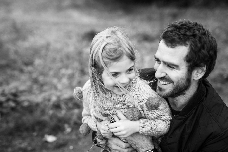 Isä ja tytär, perhekuvaus, Helsinki