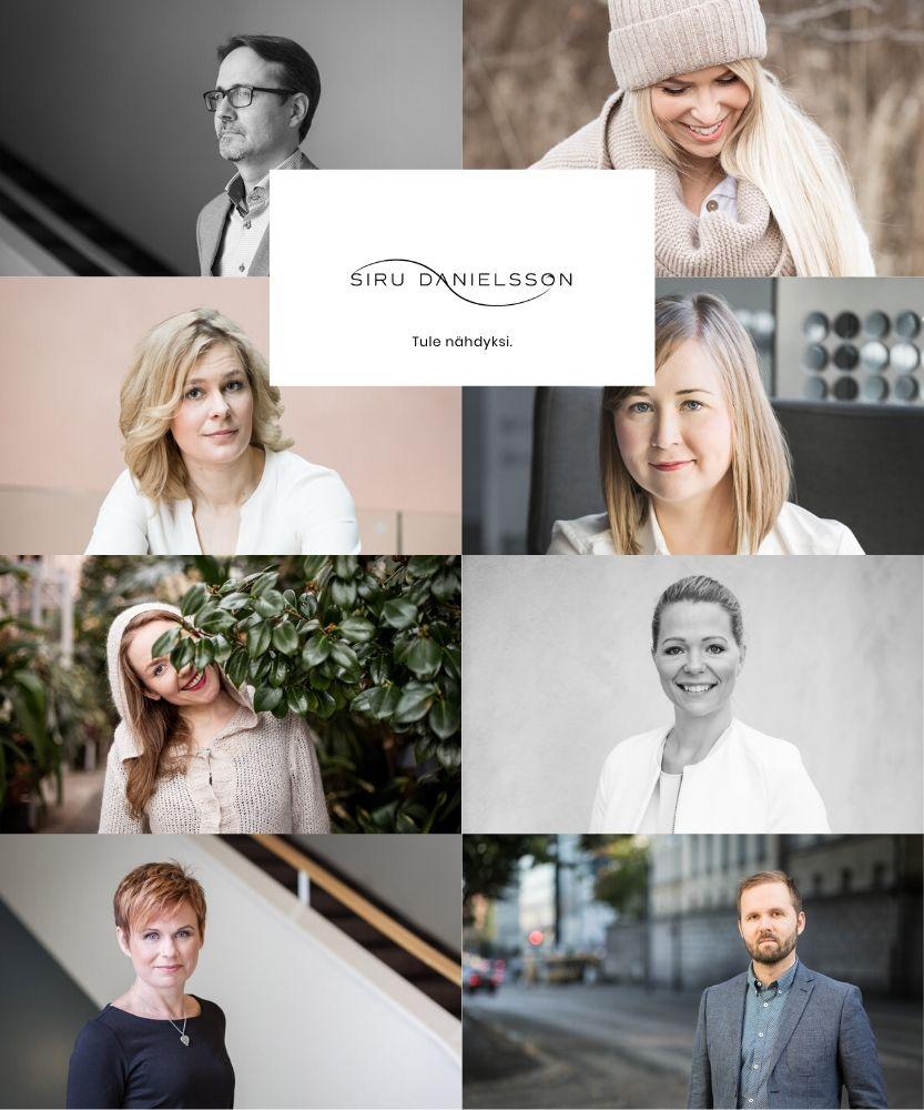 Edustukuvaus, henkilökuvaus, profiilikuvat ja cv-kuvat, Siru Danielsson Photography